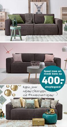 Wat zijn jouw najaarsfavorieten van Kwantum? Maak een bord aan genaamd #KwantumNajaar, pin daar vanaf dit bord minimaal 5 producten op met #KwantumNajaar en maak kans op 400,- shoptegoed van Kwantum! Hier vind je de actievoorwaarden: www.kwantum.nl/najaarsactie. Decor, Living Room, Furniture, Room, Home, Sofa, Couch