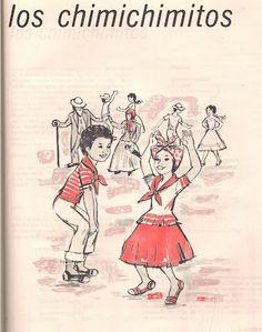Los Chimichimitos es un baile infantil generalizado en el Oriente de Venezuela ORIGEN DEL BAILE