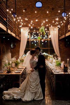 Classic Urban New York Wedding from Mademoiselle Fiona - wedding reception idea