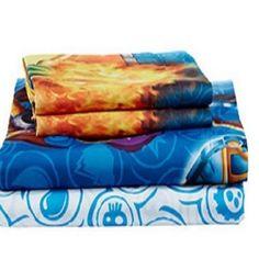 Bed Sheet Set Bedding Linen Sheets Twin Linens Kids Skylander Bedroom LAST  ONE! #Disney