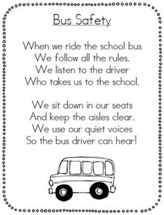 School Bus Safety Pack by First Grade Garden School Bus Safety, School Bus Driver, School Buses, Beginning Of The School Year, First Day Of School, Back To School, Bus Humor, Bus Driver Appreciation, Bus Crafts