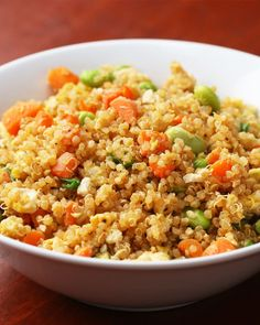 Use Leftover Quinoa To Make Fried Rice