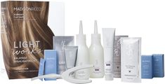 A better way to highlight is here with Madison Reed Light Works, an ammonia-free 2-step kit for natural-looking balayage highlights at home. At Home Highlights, Balayage Highlights, Balayage Hair, Black And Blonde Ombre, Dark Ombre Hair, Diy Hair Dye, Best Hair Dye, Natural Dark Hair, Natural Looks