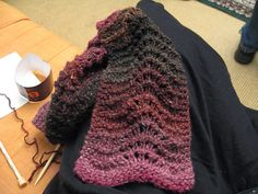 This is a great project for a beginning knitter. If you are experienced, it knits up quickly and is a beauty!