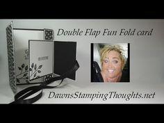 Double Flap Fun Fold card - YouTube