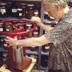 Our brand new herb press! #gratefulbody #vegan #holistic