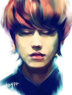 Kyuhyun by KAPPA. Fanart of Kyuhyun from Super Junior.