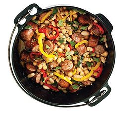 Sausage and Bean Dutch-Oven Stew Recipe