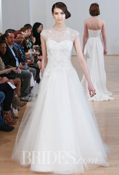 Junko Yoshioka Wedding Dresses Spring 2015 Bridal Runway Shows Brides.com | Wedding Dresses Style | Brides.com