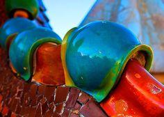 Gaudi's details by Ricardo Gomez Angel on #Flickr