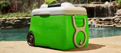 Icybreeze — Portable Air Conditioner And Cooler Regular coolers just keep your drinks cold; this one does that, but it cools you down as well. Summertime just got 100% less sweaty (for you and your bottles of beer).