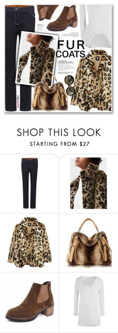 """LOVE NEWCHIC"" by nanawidia ❤ liked on Polyvore featuring MANGO and Karen Walker"