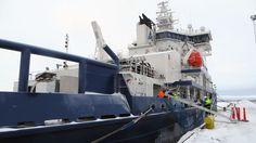 Tässä on Suomen uusin jäänmurtaja. Maan koko murtajalaivasto on tarkoitus uudistaa vuoteen 2030 mennessä.