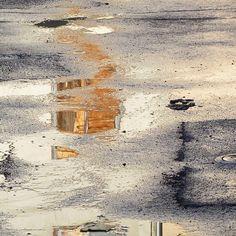 abstraction sur goudron