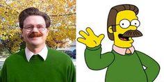 Estas 14 personas son los personajes de los Simpsons en la vida real… Una mujer a hecho la transformación completa para parecer a Marge Simpson!