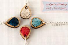 bamboo jewelry Red Gate Stitchery