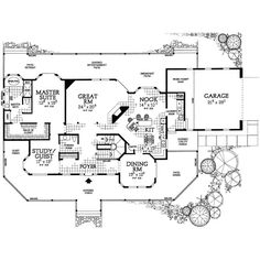 Plan W81299W ❤ liked on Polyvore featuring backgrounds, floorplan and house plans