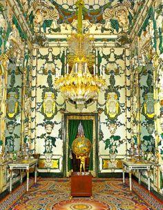 Salón de porcelana del Palacio Real de Madrid