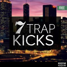 This free sample pack offers 7 very valuable and useful Trap Kick Samples which are completely free! Clean, punchy, roomy and big Trap Kick Drum Samples are aimed at Trap, Urban and Hip Hop producers.