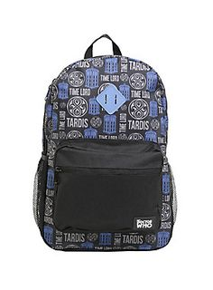 *WHO* is ready for school yet? // Doctor Who Time Lord Tardis Backpack