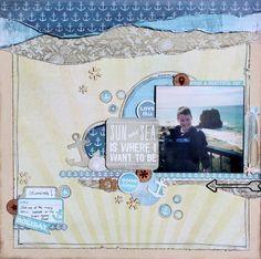 Kaisercraft Sandy Toes - Wendy Smith
