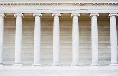 Limestone Columns at