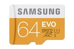 Samsung 64GB EVO Class 10 Micro SDXC Card with Adapter up to 48/MB/s (MB-MP64DA/AM) Samsung http://www.amazon.com/dp/B00IVPU7AO/ref=cm_sw_r_pi_dp_.XJWwb0Q0VK21