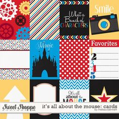 It's all about the Mouse Cards by Melissa Bennett #DisneySide