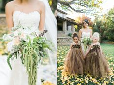 Alyssa + Jon: A stylish fall wedding at The Mitten Building » sara lucero : blog /// flowers by Brier Rose Design