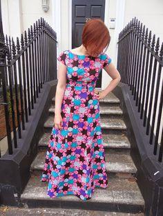 Barbès-Rochechouart dress - By Hand London Anna maxi dress