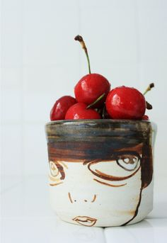 yum yum... art and beautiful fruit together: Sweet snacking