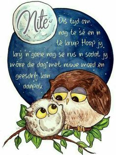 Evening Greetings, Goeie Nag, Goeie More, Afrikaans Quotes, Good Night Quotes, Special Quotes, English Quotes, Qoutes, Soul Food