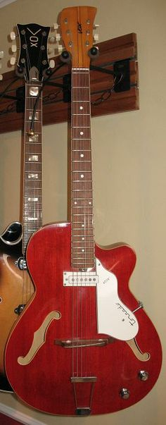 GRECO Shrike 950 w/boomerang pickups 1960s Red | Reverb | Great ...