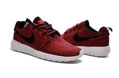 low priced 5da4c 57d62 Nike Roshe Run Yeezy Red Women Men Shoes Teen Fashion, Boho Fashion, Runway  Fashion