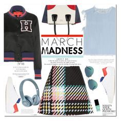 """No 334:March Madness"" by lovepastel ❤ liked on Polyvore featuring Marc by Marc Jacobs, Marni, Tommy Hilfiger, Y-3, Prada, Jin Soon, Tiffany & Co., Sinclair, Vince and hightops"