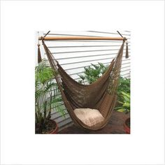 Outer Banks Nicaraguan Rope Hammock Chair LOVE For River Outlook.