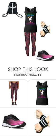 """""""Gym outfit"""" by in-seva on Polyvore featuring Lolë, Rykä and Dogpile"""