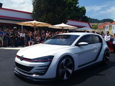 New VW Golf concept revealed at Wörthersee