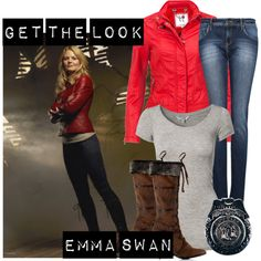 Get the Look: Emma Swan from Once Upon a Time #TV #Costume #Halloween..I love this program.Please check out my website thanks. www.photopix.co.nz