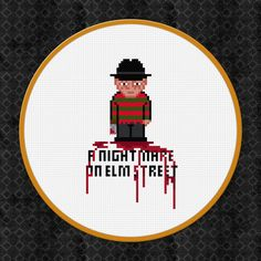 A Nightmare on Elm Street  Freddy Krueger  by pixelpowerdesign
