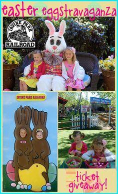 Irvine Park Railroad Easter Eggstravaganza [Giveaway] Irvine Park, Tiny Oranges, Orange County, Easter Bunny, Giveaways, Events, Seasons, Holidays, Spring