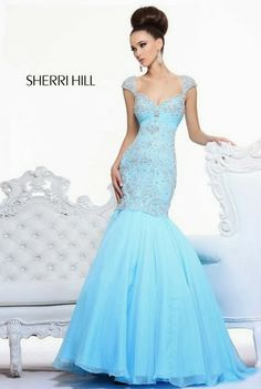 Sherri Hill dresses are designer gowns for television and film stars. Find out why her prom dresses and couture dresses are the choice of young Hollywood. Sherri Hill Prom Dresses, Mermaid Prom Dresses, Mermaid Gown, Pageant Dresses, Homecoming Dresses, Prom Outfits, Prom Dress 2013, Dresses 2013, Evening Dresses