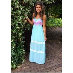 Get Carried Away Maxi Dress