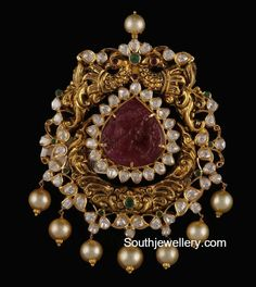 Indian Jewellery Designs - Page 7 of 1784 - Latest Indian Jewellery Designs 2020 ~ 22 Carat Gold Jewellery one gram gold India Jewelry, Jewelry Shop, Pendant Jewelry, Pendant Necklace, Diamond Jewelry, Gold Jewelry, Fine Jewelry, Cz Jewellery, Indian Jewellery Design