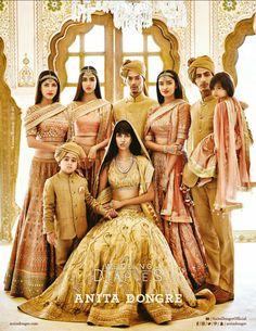 The Wedding Diaries - Anita Dongre - VOGUE India - October 2015