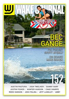 July 28th, 2014 - Wake Journal 152 is here with Bec Gange on the cover! Download the Wake Journal App, subscribe and get all 40 issues for just $1.99! http://www.wkjr.nl/app
