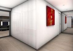 penthouse rotterdam, maatwerk meubels, maatwerk keuken, sauna, daktuin_interieurontwerp verbouwing penthouse centrum rotterdam Zuid-Holland, interieurarchitect Rotterdam Joosteninterieur g