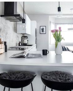 - Decoration For Home Home Decor Kitchen, Kitchen Interior, Home Kitchens, Cheap Rustic Decor, Cheap Home Decor, Minimal Home, Scandinavian Kitchen, Beautiful Interior Design, Elegant Homes