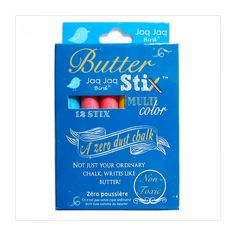 "ButterStix ""Zero Dust"" Kreidestifte, bunt"