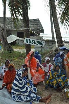 Kangas. Zanzibar